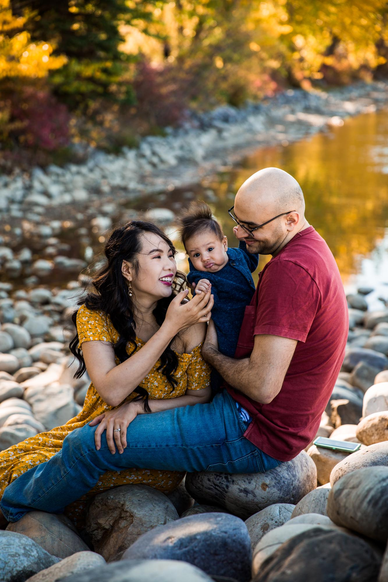 Calgary family photographer - Bowness Park family photography