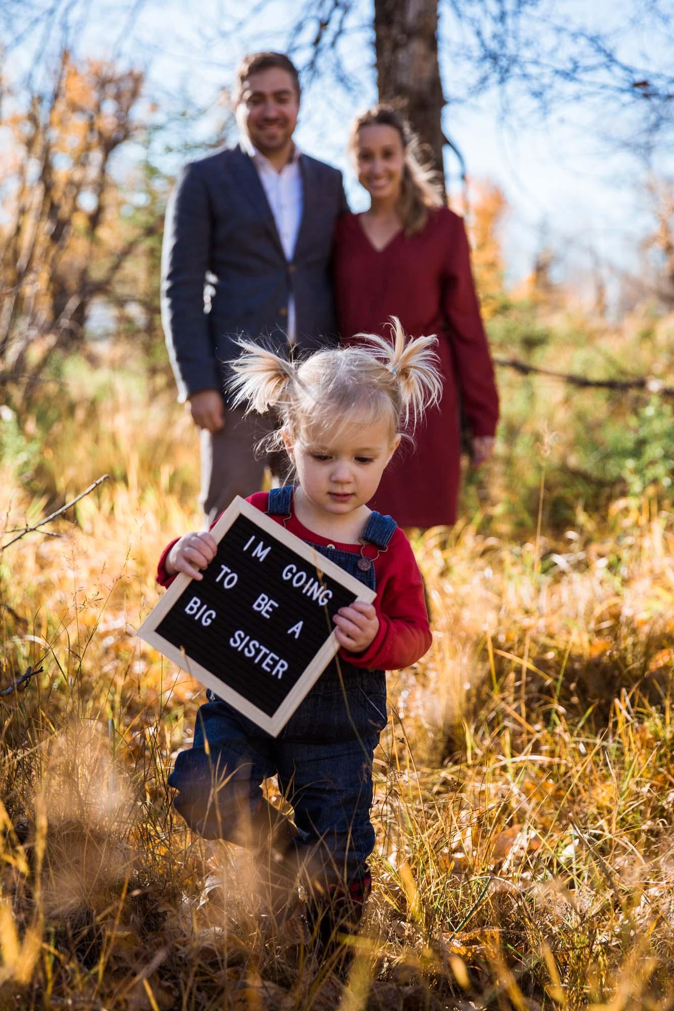 Calgary family photographer - Inglewood Bird Sanctuary Maternity Photography