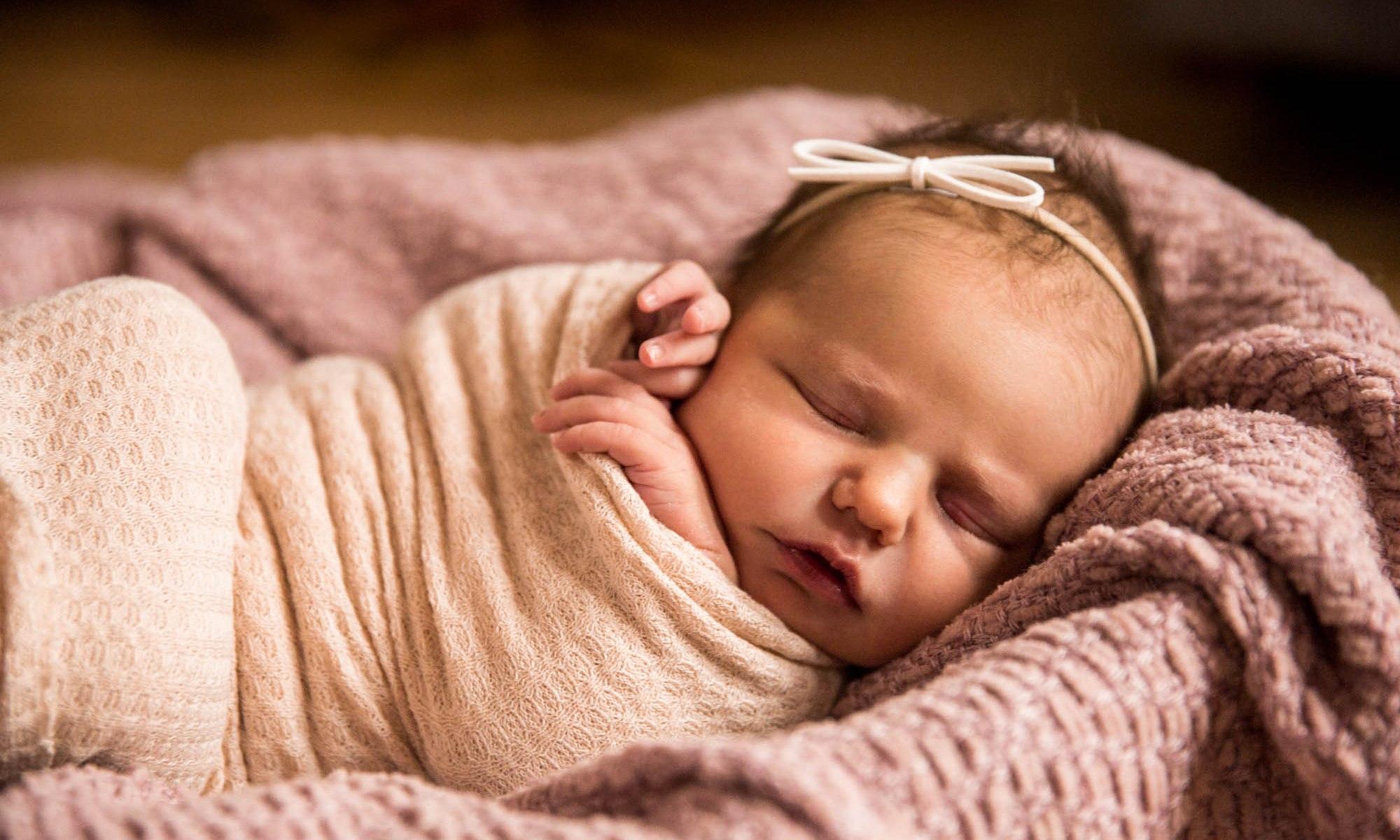 Calgary family photographer - in-home lifestyle newborn photography