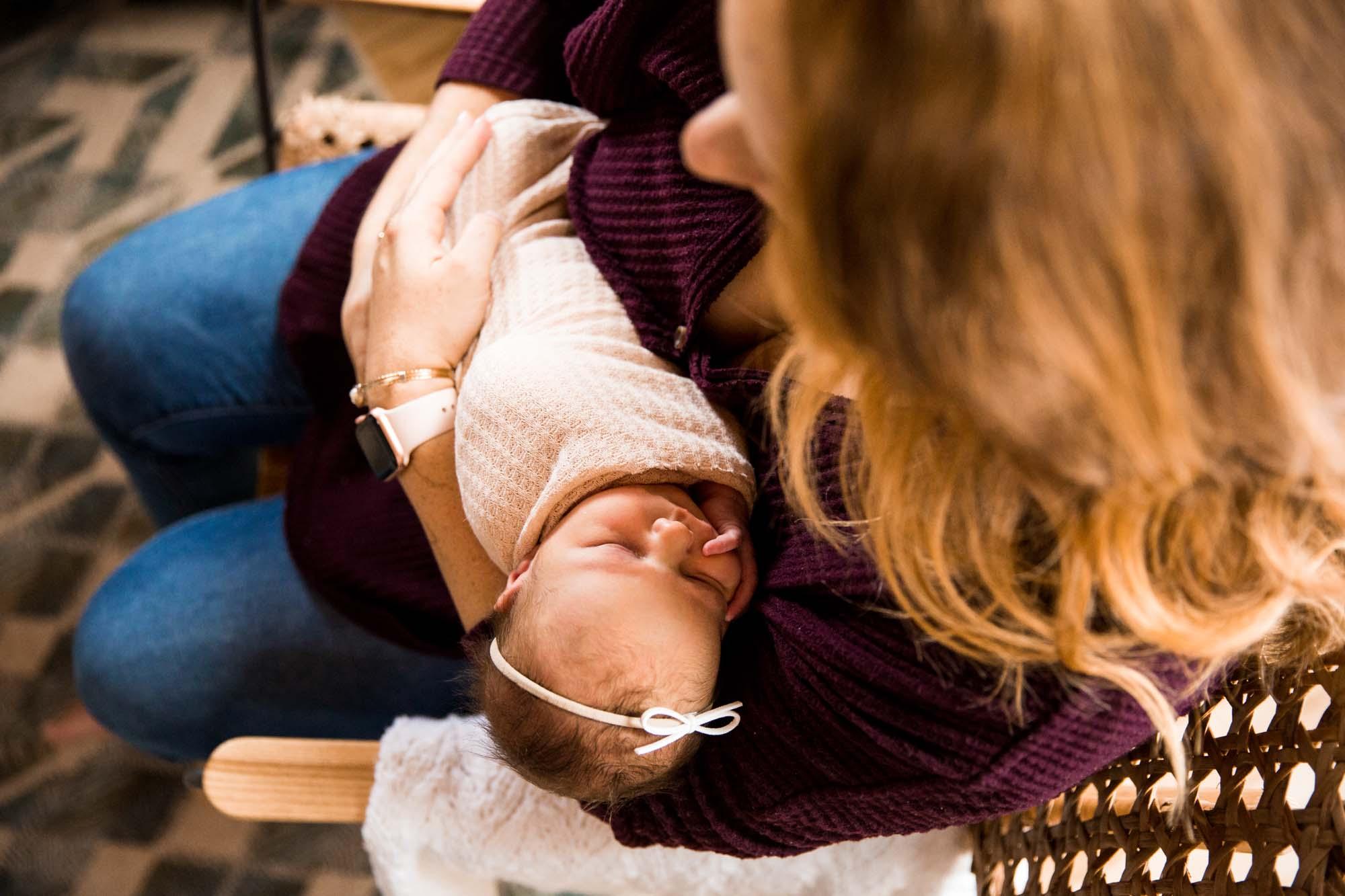 Calgary family maternity and newborn photographer, lifestyle newborn photos