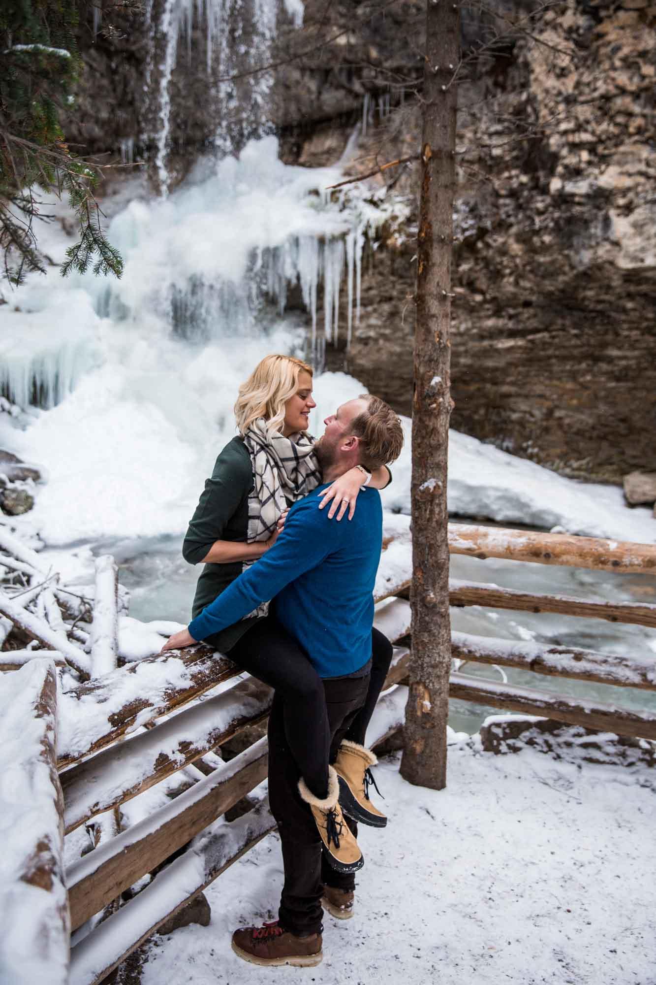 Calgary engagement and wedding photographer, engagement session in the Kananaskis