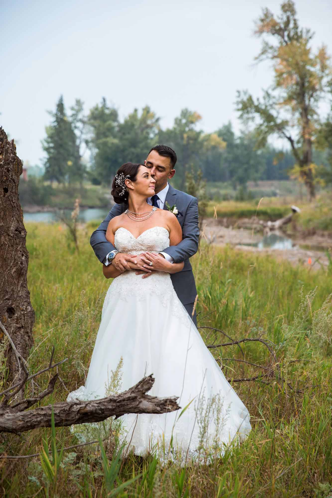 Calgary engagement and wedding photographer, micro wedding at Inglewood Bird Sanctuary